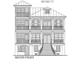 155 Best Beach House Narrow Lot Plans Images On Pinterest Beach Waterfront House Plans In Beautiful Columbia