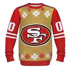 San Francisco 49ers Ugly Christmas Sweaters Fans Of The San