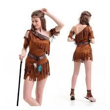 Halloween Costume Ladies Halloween Costume Ladies Pocahontas Native American Indian Wild