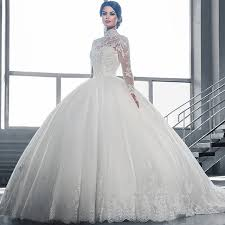 aliexpress com buy 2017 new style beautiful white ball gown