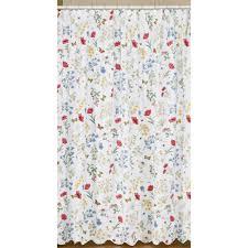 Cottage Shower Curtains Wildflower Shower Curtain Country Village Shoppe