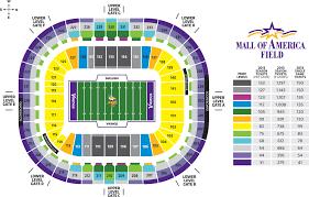 map us bank stadium mn vikings new stadium seating chart u s bank stadium seating