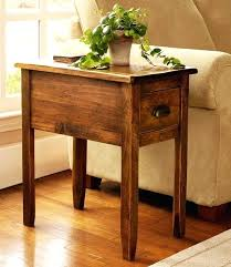 narrow side tables for living room small wood end table cherry wood end tables living room silver