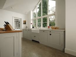 fleet painted shaker kitchen higham furniture fleet painted shaker kitchen with belfast sink
