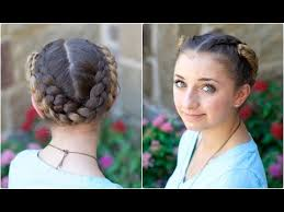 plait at back of head hairstyle fold up braids back to school hairstyles youtube