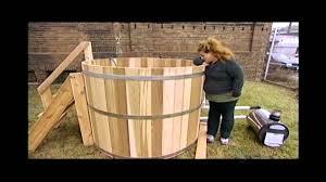 Wood Heated Bathtub Wood Fired Tub Youtube