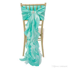 2017 link for custom made chiffon organza taffeta ruffles chair