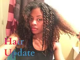 natural hair no heat challenge 6 months no heat natural hair update youtube