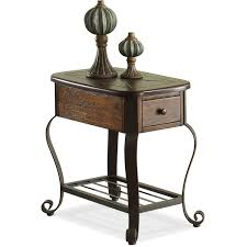 riverside 54710 eastview chairside table in tuscan sun homeclick com