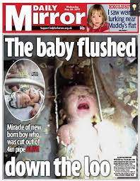Asian Baby Meme - sky news on twitter daily mirror front page the baby flushed
