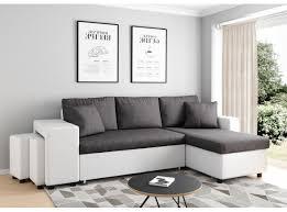 canapé d angle bi couleur promotions exceptionnelles sur des canapés d angle matelas tables