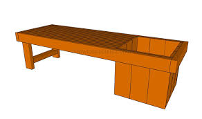 how to build a planter bench howtospecialist how to build
