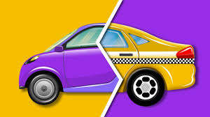 subcompact cars kids play time subcompact car and taxi car garage cartoon