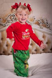 the grinch costume for toddlers grinch inspired theme family pjs pajamas set fleece
