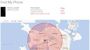 find location of phone number on map how to find your lost or stolen windows phone 8