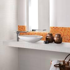 Orange Floor L Bathroom Fascinating Orange Bathroom Decoration Using Orange