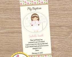 baptism recuerdos baptism favor cards bookmar baptism angel girl or boy