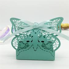 butterfly gifts butterfly heart wedding candy box wedding favors and gifts boxes