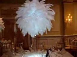 Ostrich Feathers For Centerpieces by White Ostrich Feather Centerpiece Rentals At The Inn At New Hyde