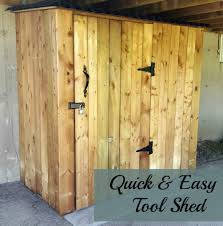 Pretty Shed by Turtles And Tails One Weekend Tool Shed