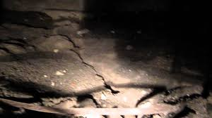 fixing a sewer pipe leak under the crawl space 1 youtube