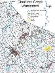 Washington County Pa Map by Chartiers Creek Watershead Assn Watershead Profile