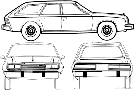 car plans the blueprints com blueprints u003e cars u003e amc u003e amc concord wagon