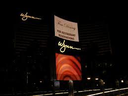 Wynn Buffet Reservation by Daily Photos U0026 Frugal Travel Tips Blog Archive Wynn Sign Vegas
