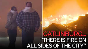 Wildfire Edinburgh Book by Terrifying Video Shows Men Driving Through Tunnel Of Flames To