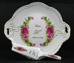 50th anniversary plate vintage memories porcelain tea set more