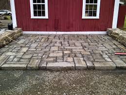 Granite Patio Pavers Patchwork Reclaimed Granite Paver Patio Landscape
