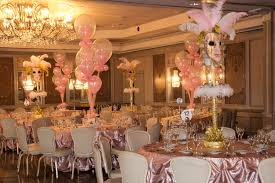 sweet sixteen centerpieces simply invitations glitter events nj event planners