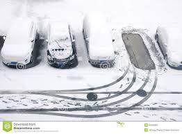 winter parking lot stock image image of trod parking 50592883