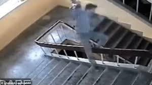 Sliding Down A Banister Student Puts Himself In Hospital After Trying To Slide Down