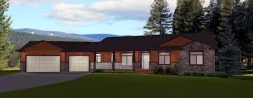19 daylight basement home plans modern mediterranean home