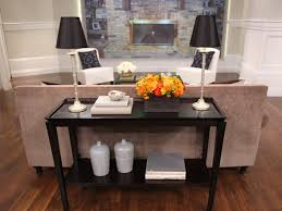Decorating Sofa Table Behind Couch by 36 Best Sofa Table Images On Pinterest Sofa Tables Console