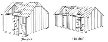 How To Build A Pig Barn Plans For Hog Houses U2013 Small Farmer U0027s Journal