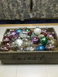 names of jesus ornaments with devotions