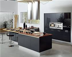 cuisine sur un pan de mur cuisine descriptifs photos de cuisines contemporaines