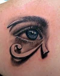 this artistic combines a eye and graphic of the