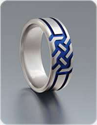 ring titanium celtic titanium ring