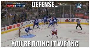 Hockey Goalie Memes - pretty much unless you win that battle on the board that goalie is