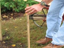how to build a simple fence around a vegetable garden how tos diy