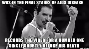 Freddie Mercury Meme - in response to the dave grohl vs everybody post on the front page