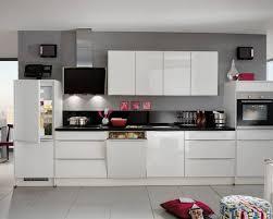 cuisine premium cuisine complète droite avec façade finition blanc premium