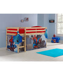 Shorty Bed Frame Buy Pine Shorty Mid Sleeper Bed U0026 Spider Man Tent At Argos Co Uk
