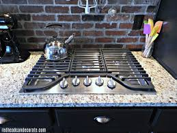 Outdoor Gas Cooktops Our New Gas Cooktop Redhead Can Decorate