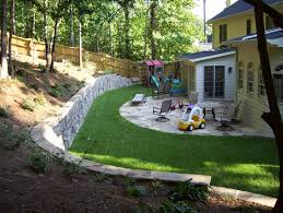 Retaining Wall Patio Design Patio With Retaining Wall Home Design Ideas And Pictures