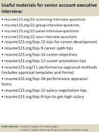 Sample Resume Account Executive by Top 8 Senior Account Executive Resume Samples