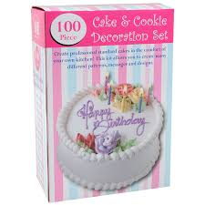 amazon com bradex 100 piece cake decorating kit instruction and